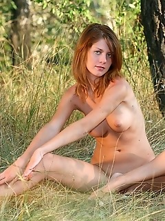 Russian gymnasts nude gymnast outdoors