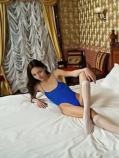 Skinny erotica hot models posing