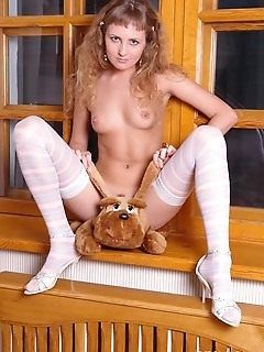 Heart-breaking blond angel