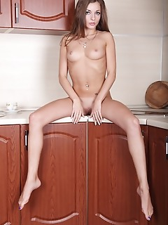 Adorable naked honey