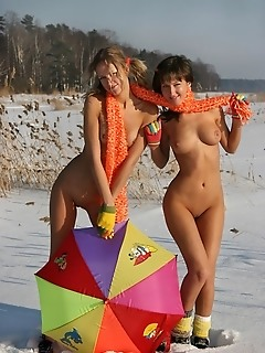 Snow nude teen amateur angels
